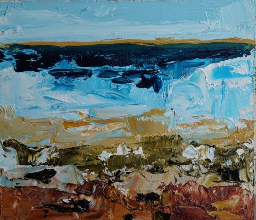 APA15 42 Sky Sea Surf and Pebbles