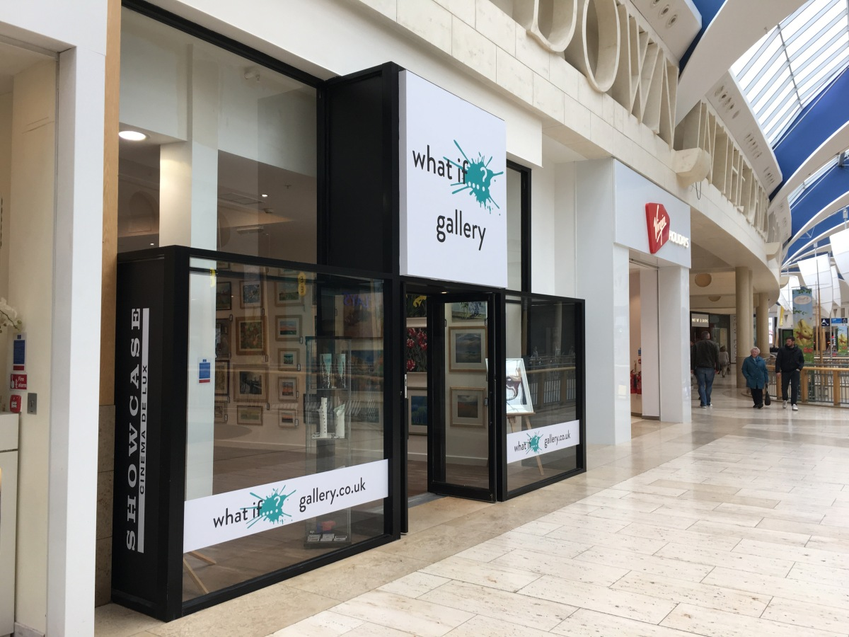 Ann is currently exhibiting in the What If…? Gallery Pop Up at Bluewater