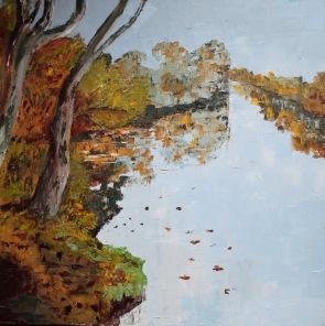 APA 17 53 Autumn leaves - River View