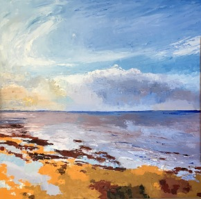 Whitstable Seascape - Low Tide 2