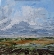 """View over Chissay 12"""" x 12"""" £195"""