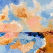 "Cloud Reflections 24"" x 24"""
