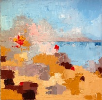 """Low Tide End of the Day 12"""" x 12"""""""